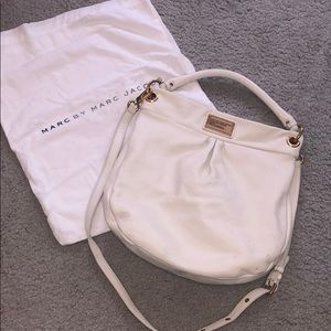 White leather Marc by Marc Jacobs bag